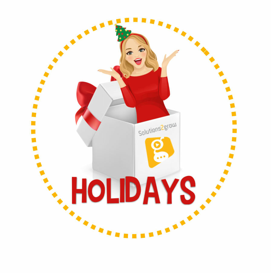 Holiday Events - Solutions 2Grow